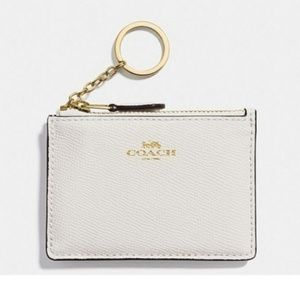 💜RESTOCKED💜COACH Mini Card Skinny Keychain ID